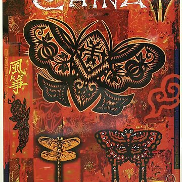 Vintage poster - China by mosfunky
