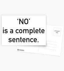 No Postcards