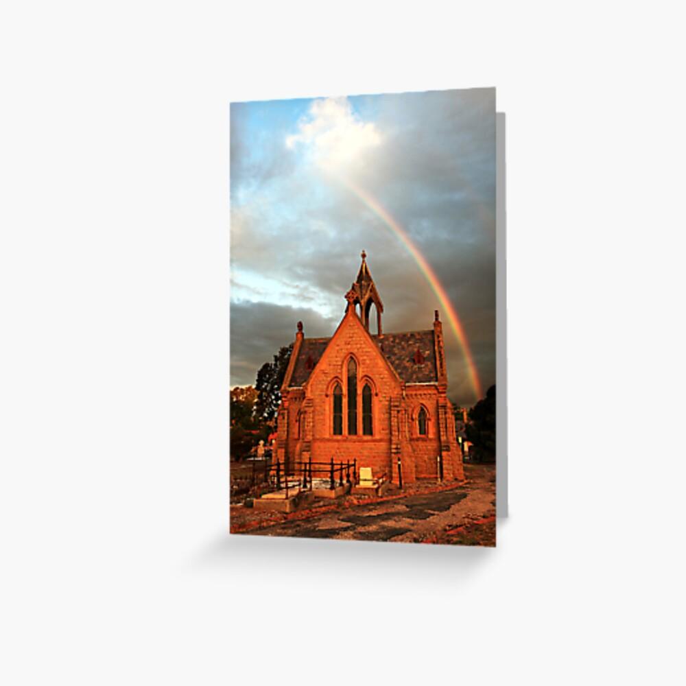 Bendigo Cemetery, Victoria, Australia Greeting Card