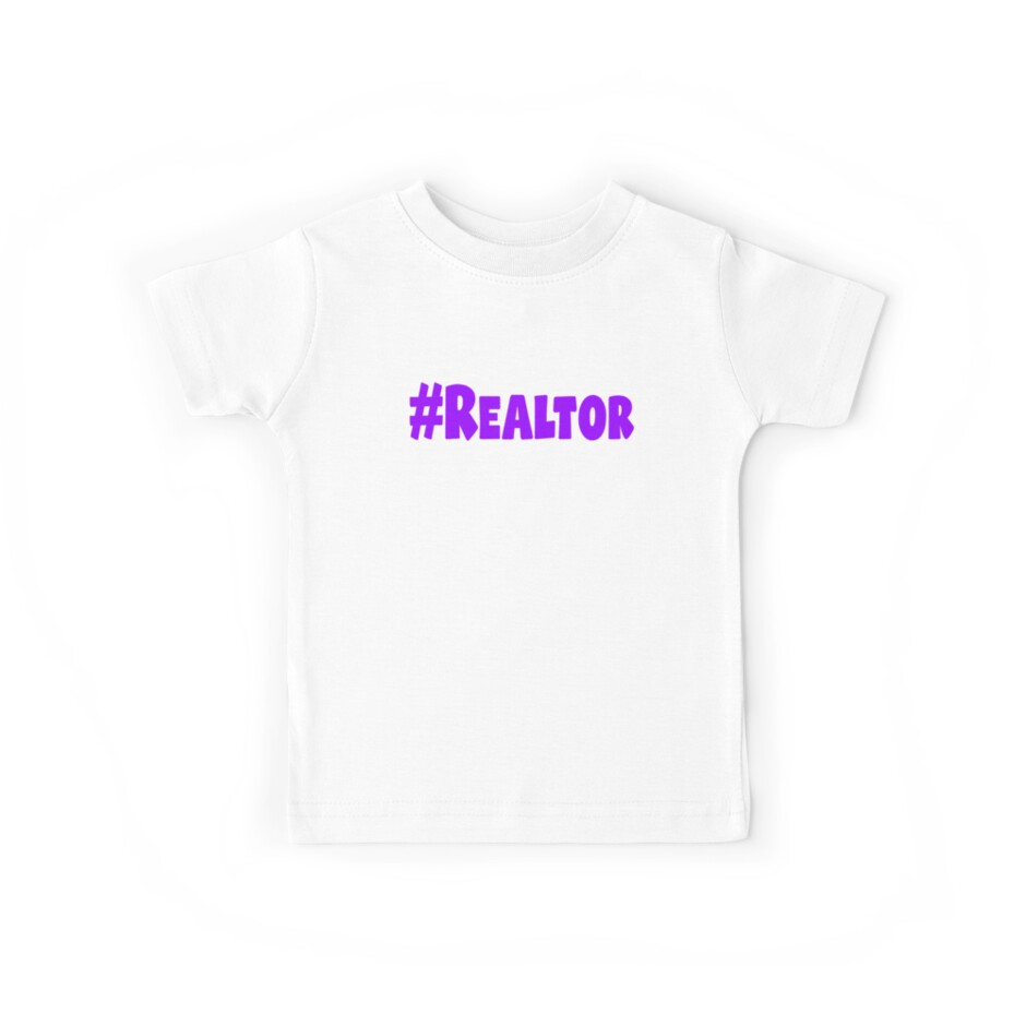 Hashtag Realtor Shirt Popular Real Estate T-Shirt by VKOKAY