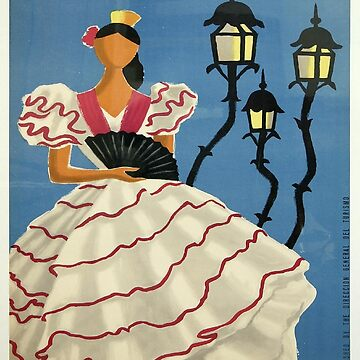 Vintage poster - Spain by mosfunky