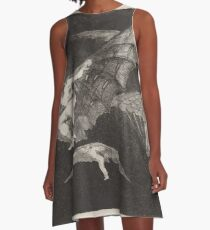 Francisco de Goya   Modo de volar A Way of Flying A-Linien Kleid