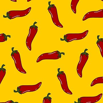Spicy! Chili Pepper design by PictoYou