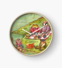 The Wind in the Willows Clock