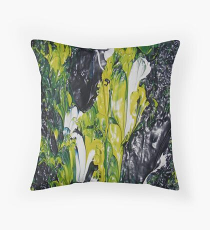 Lilies in the Night Throw Pillow