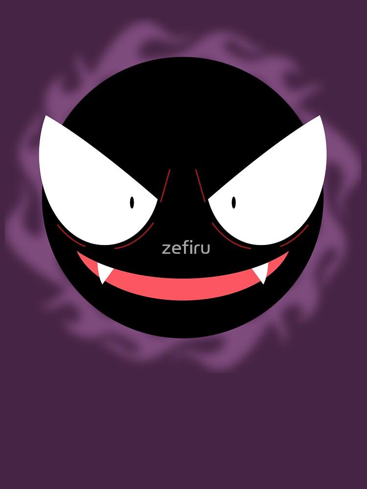 Pokemon - Gastly / Ghos by zefiru