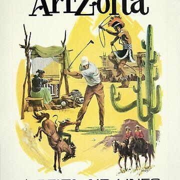 Vintage poster - Arizona by mosfunky