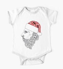 Hipster Fashion Santa  One Piece - Short Sleeve