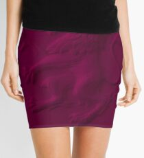 Art Aston Villa Wallpaper Mini Skirt