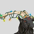 Festive Goat by sneercampaign