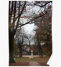 Parma, Parco Ducale. Emilia-Romagna, Italy 2009 Poster