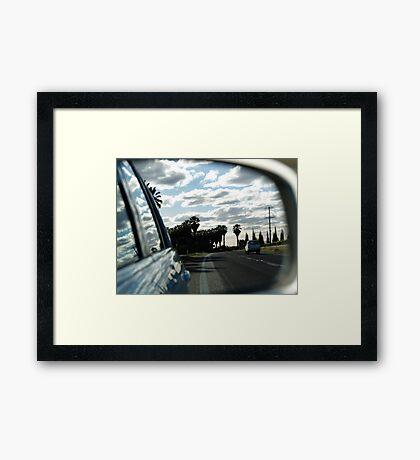 ruralscapes #7, highway Framed Print