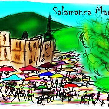 Salamanca Market Hobart Tasmania Australia by davidfraser