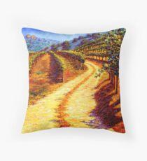 Sonoma Vineyard Throw Pillow
