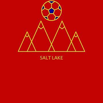 Salt Lake-Fußball von TheLakeEffect