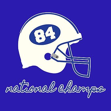 1984 National Champions von TheLakeEffect