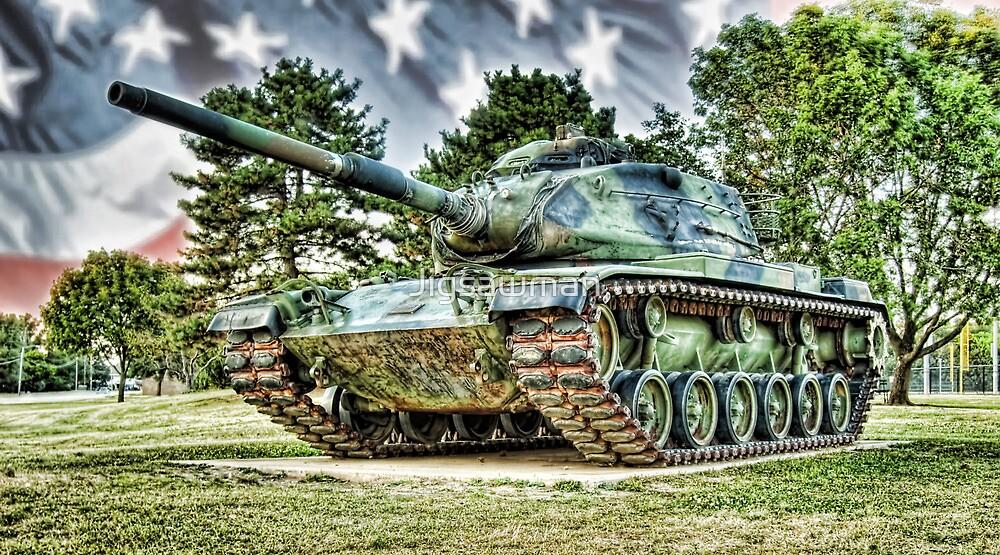 Red Arrow Battle Tank by Jigsawman