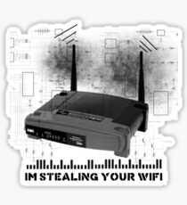 Wifi Thief Sticker