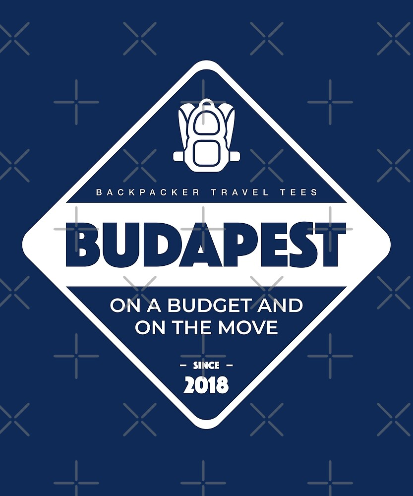 Budapest Backpackers T-Shirt by designkitsch
