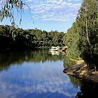 River Bend - Echuca by Marion  Cullen