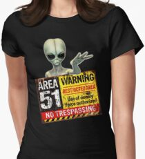 AREA 51 Women's Fitted T-Shirt
