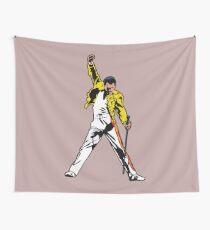 Mr Mercury Iconic Pose, Unforgettable Performance Artwork, Tshirts, Posters, Prints, Men, Women, Kids Wall Tapestry
