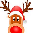 Reindeer Santa1 by mademesmile