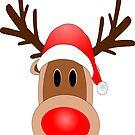 Reindeer Santa by mademesmile
