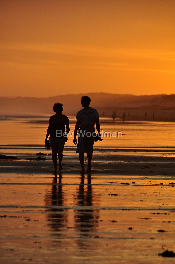 Come Walk With Me - Redhead Beach NSW by Bev Woodman