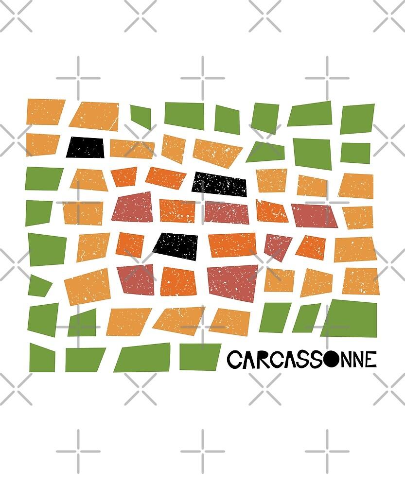 Carcassonne by designkitsch