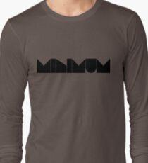 minimum. Long Sleeve T-Shirt