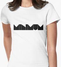 minimum. Women's Fitted T-Shirt