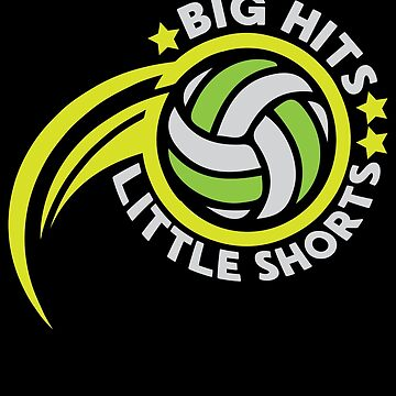 Volleyball Big Hits Little Shorts by overstyle