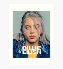 Billie Eilish Kunstdruck