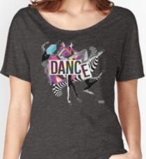 DANCE - A graphic tribute to BALLET -  Women's Relaxed Fit T-Shirt
