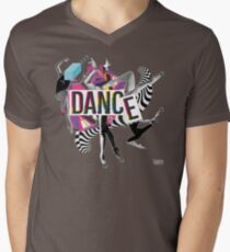DANCE - A graphic tribute to BALLET -  Men's V-Neck T-Shirt
