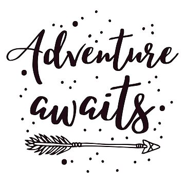 Adventure awaits with awesome boho arrow in black by jazzydevil