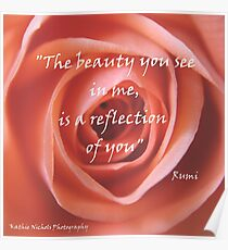 The beauty you see in me..... Poster