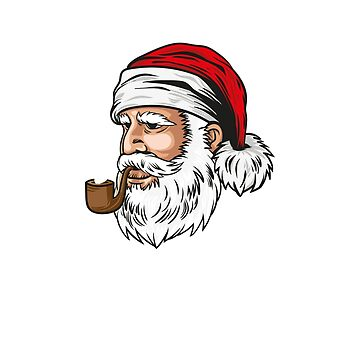 Happy Christmas | Funny Santa Claus Quotes T-Shirt by JohnPhillips
