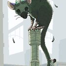 Trico from The Last Guardian - pixel art by Sev4