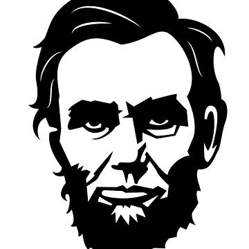 Abraham Lincoln T-Shirt 16th American President America USA Abe Fan by BullQuacky