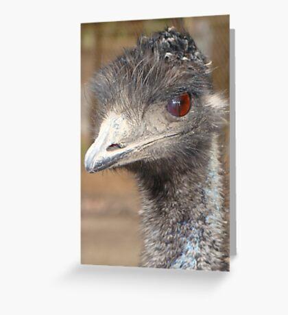Look me in the eye Greeting Card