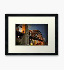 Golden Gateway - Sydney, Australia Framed Print