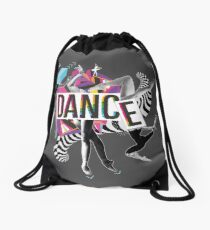 DANCE - A graphic tribute to BALLET -  Drawstring Bag
