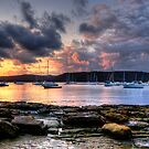 Adventures In Paradise - Paradise Beach , Sydney - The HDR Experience by Philip Johnson