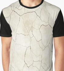 Abstract elegant brown ivory modern trendy marble Graphic T-Shirt