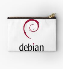 debian operating system logo Studio Pouch