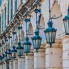 Arches and Lamps in Greece by dbvirago