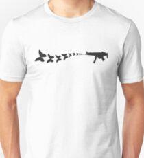 Gun shooting butterflies T-Shirt