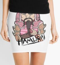 Hamurai from Rick and Morty™ for lovers of ham and samurai warriors! Mini Skirt